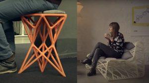 چاپ سه بعدی مبلمان و صندلی
