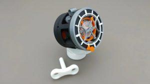 نمونه چاپ سه بعدی ساعت