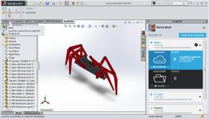 نرم افزار سه بعدی Solidworks