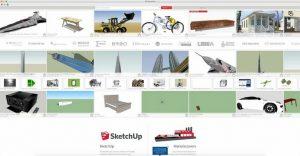 5 سایت معتبر جهت دانلود مدل رایگان SketchUp