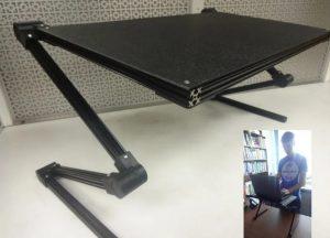 پرینت سه بعدی استند لپ تاپ