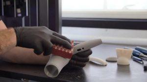 تمیز کردن مدل های سه بعدی بعد از چاپ