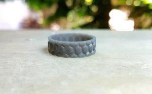 بهترین نمونه حلقه های جواهر برای چاپ سه بعدی