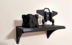 چاپ سه بعدی قفسه های اداری و خانگی