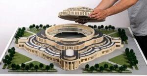پرینت سه بعدی مدل های معماری