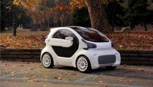 15 وسیله نقلیه با چاپ سه بعدی
